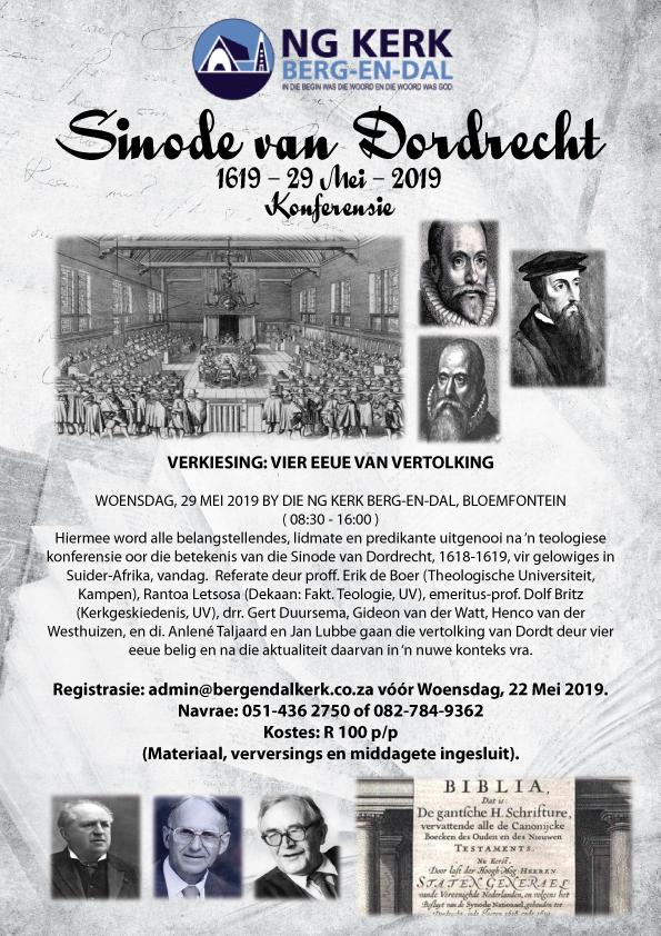 Dordt Konferensie - Uitnodiging