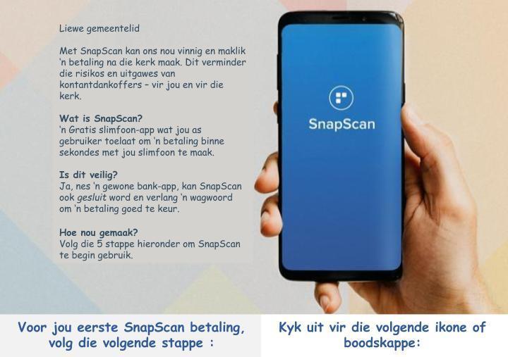 SnapScan Instruksie Mei 2020